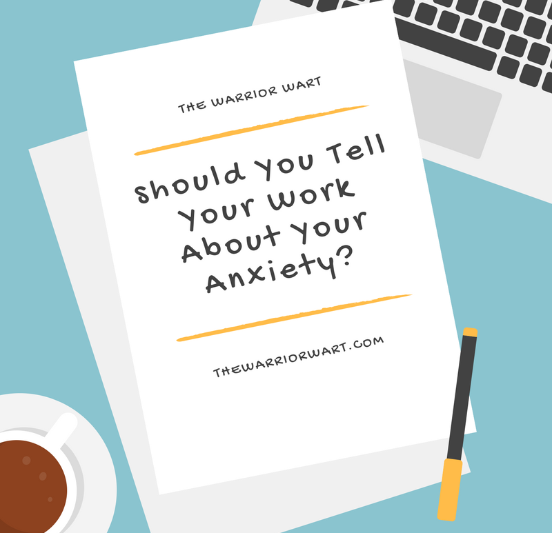 Should You Tell Your Work About Your Anxiety_