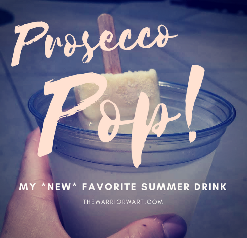 Prosecco Pop! Yum!